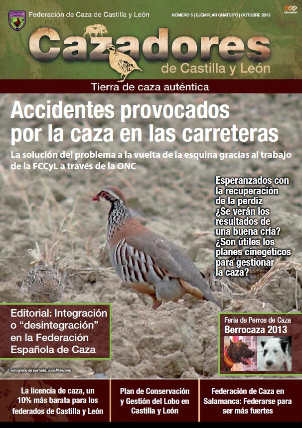 Fccyl Calendario.Revista Cazadores De Castilla Y Leon Nº 5 Federacion De Caza De