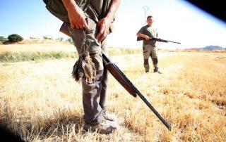 Primer día de la media veda de caza en Castilla y León / ICAL