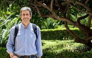 José María Mancheño, presidente de la Federación Andaluza de Caza. / FERNANDO TORRES