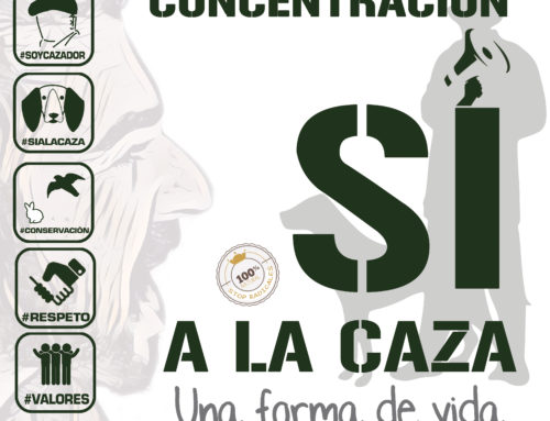 Las Federaciones de Caza convocan a los cazadores en más de 50 ciudades, el 15 de abril, para reivindicar la caza como forma de vida
