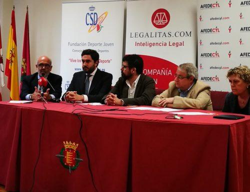 AFEDECyL difundirá la campaña 'El deporte español por la seguridad en internet' en Castilla y León