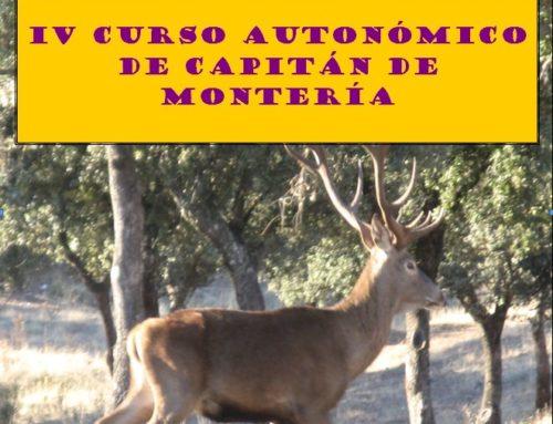 Curso de Capitán de Montería en El Cabaco (Salamanca)