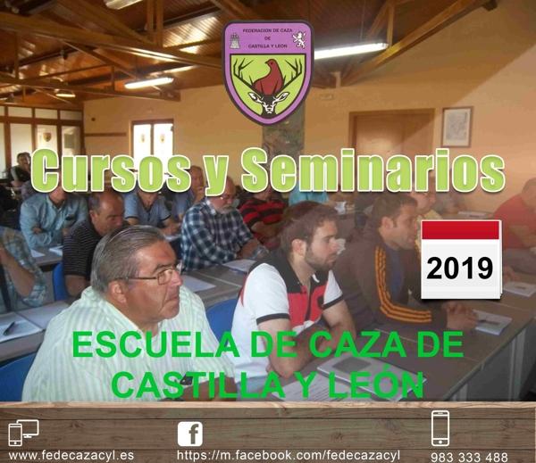 Cursos 2017 - Federación de Caza de Castilla y León