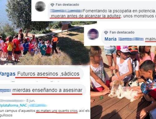 Animalistas desean la muerte a unos niños que participarán en un campus de caza: «Ojalá se mueran antes de alcanzar la adultez, unos monstruos menos»