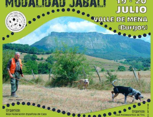 XXVII Campeonato de España de Perros de Rastro sobre Jabalí